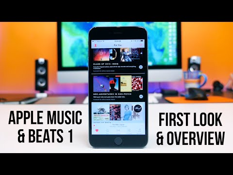 Apple Music and Beats 1 First Look and Overview