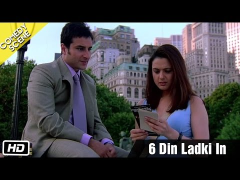 6 Din Ladki In - Scene - Kal Ho Naa Ho video