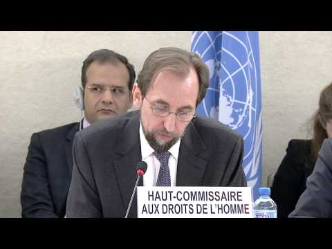 High Commissioner's Annual Report to the Human Rights Council