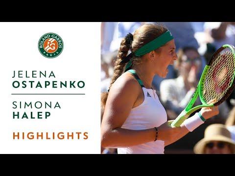 Jelena Ostapenko v Simona Halep Highlights - Women's Final 2017 | Roland-Garros