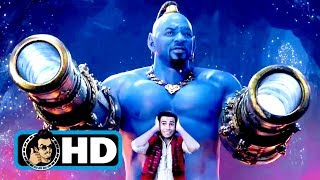 ALADDIN - All Clips, Trailers & B-Roll (2019) Will Smith