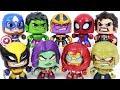 Marvel Avengers Hulkbuster X Men Wolverine Gamora Defeat Thanos Dinosaurs Army DuDuPopTOY mp3