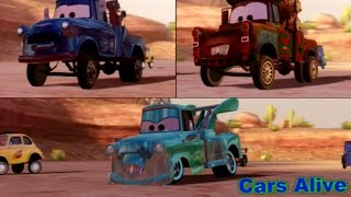 Cars 2: The video Game - 3 Maters Race on Canyon Run