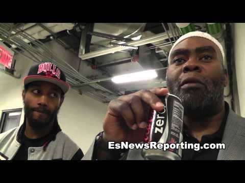 nazim richardson on garcia vs judah floyd mayweather vs guerrero  - EsNews Boxing