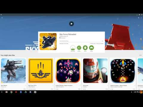 How To Install and Run Android / Google Play Apps on Many Chromebook
