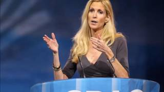 """Oh God, Not The Jews Again!""-- Ann Coulter on BBC Radio 4 (5/18/2016)"
