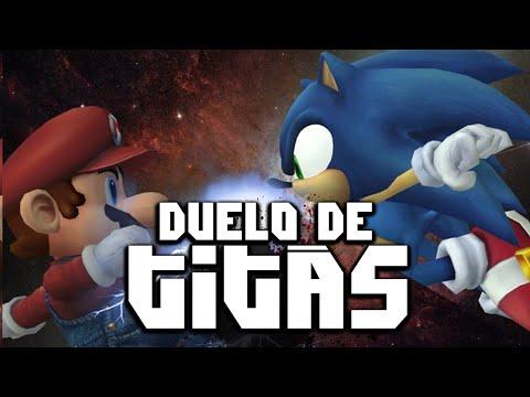 Mario VS. Sonic   Duelo de Titãs