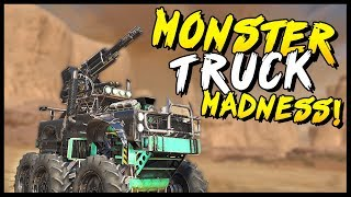 Crossout - MONSTER TRUCK MADNESS! - Crossout Gameplay