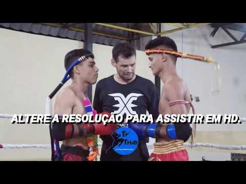 TV THAI - Nicolas ( Black Thai ) Vs Gabriel ( Rd Muay Thai ) Xtreme Muay Thai || 50kg
