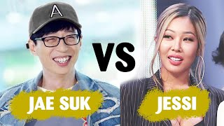 Download When queen Jessi and nation MC Yoo Jae Suk be in one room 😂😂 Mp3/Mp4