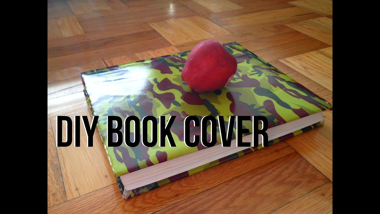 Paper Bag Book Cover Tutorial ~ Diy book cover from a paper bag youtube