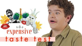 We Tortured 'Stranger Things' Star Gaten Matarazzo With 💄| Expensive Taste Test