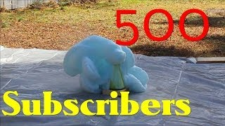 500 subs Special -Elephant Toothpaste & Cesium