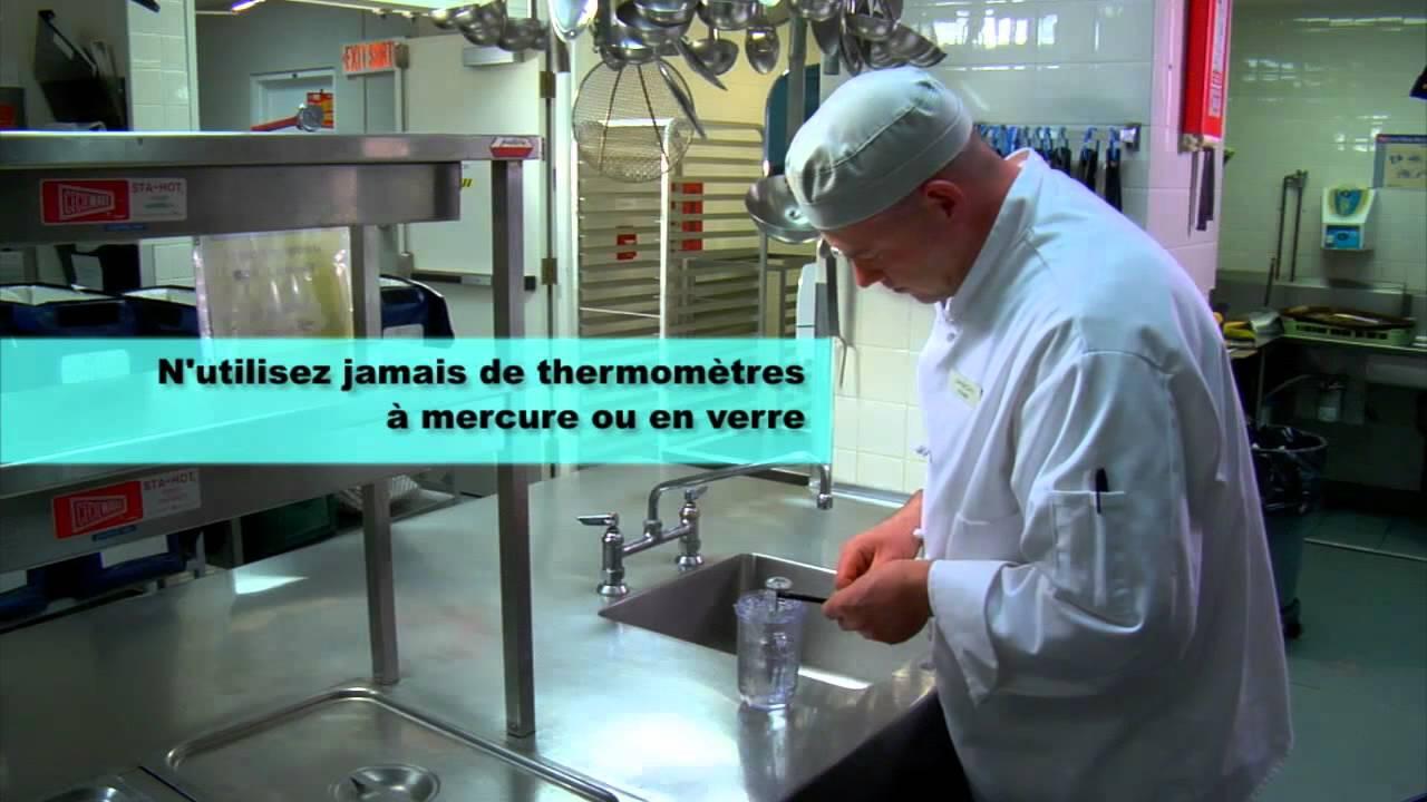 Comment utiliser et talonner un thermom tre pour aliments youtube - Comment utiliser un araseur pour lino ...