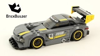 Lego Speed Champions 75877 Mercedes-AMG GT3 - Lego Speed build