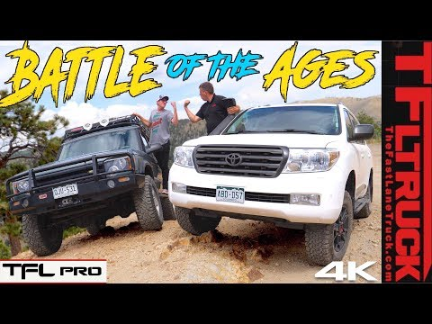 Toyota vs Land Rover: We Take 2 Off-Road Icons Up A Mountain To See Which Is Best | TFL Pro S.1 Ep.8