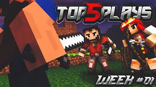 Minecraft PvP - Top 5 Plays of the Week #1