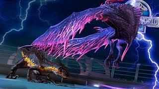 MAX INDORAPTOR VS WORLD BOSS PHOENIX 44!! - Jurassic World: The Game - *NEW WORLD BOSS* Ep. 154 HD
