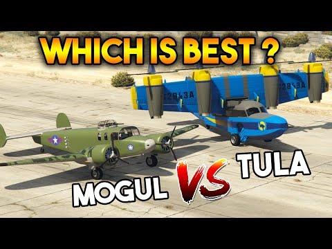GTA 5 ONLINE : TULA VS MOGUL (WHICH IS BEST PLANE?)