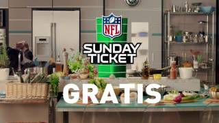 Disfruta del NFL Sunday Ticket Gratis