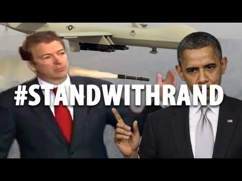 #StandWithRand: Rand Paul, Barack Obama, Drones, and Presidential Kill Lists