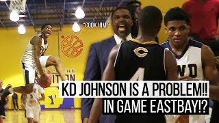 DON'T Make KD Johnson Angry!!! SW Dekalb Goes Crazy Against Carrollton!