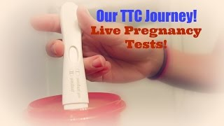 Our TTC Journey | Live Pregnancy Tests