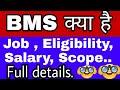 BMS COURSE क य ह SALARY JOB SCOPE MORE BMS Full Detalis In Hindi Bussiness Studies mp3
