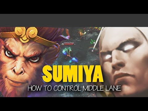 Sumiya Invoker Dota 2 - How To Counter Monkey King - EPIC Gameplay Dota 2 7.06f