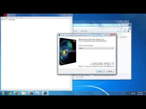 How to get Sony Vegas pro 11   Pre-Cracked   One Download Only