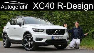 Volvo XC40 R-Design T4 FULL REVIEW - Autogefühl