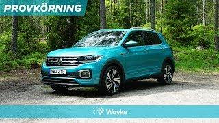 Volkswagen T-Cross – liten men färgstark? Vi har provkört!