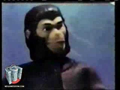 Mego Planet of the Apes dolls commercial