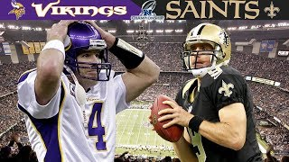 The Snafu in the Superdome! (Vikings vs. Saints, 2009 NFC Championship)
