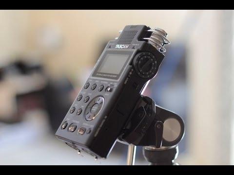 TASCAM DR 100 MK II GRAVADOR PROFISSIONAL - LINEAR PCM RECORDER -
