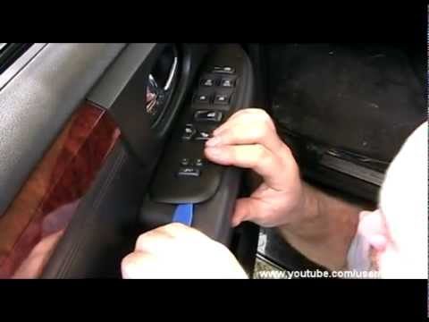 GMC Envoy door panels - remove and install (front and rear)