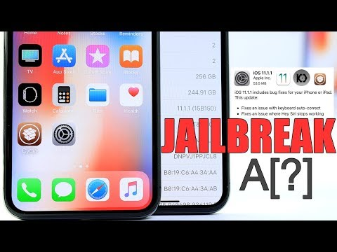 iOS 11.1.1 Jailbreak on iPhone X & iOS 11.1.1 What's New ?