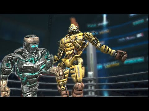 REAL STEEL THE VIDEO GAME XBOX360/PS3-ATOM vs MIDAS & TWIN CITIES