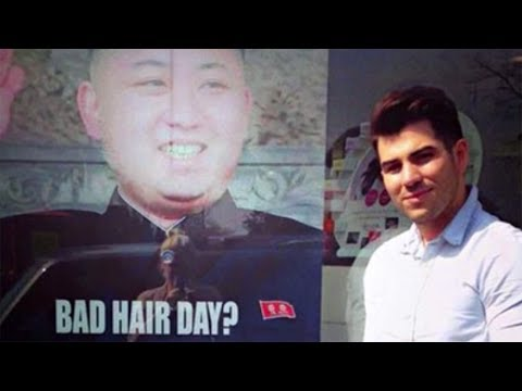 London Barber Targeted By Kim Jong Un For 'Bad Hair Day?' Poster
