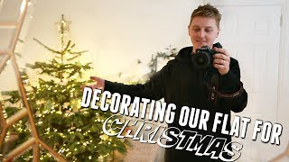 DECORATING OUR FLAT FOR CHRISTMAS