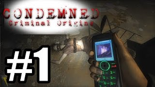 Condemned Criminal Origins #1 - Sega Horror!