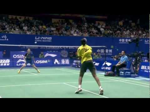 Highlight - Pusarla Venkata Sindhu vs Li Xuerui - Qtr. Final, 2012 China Masters