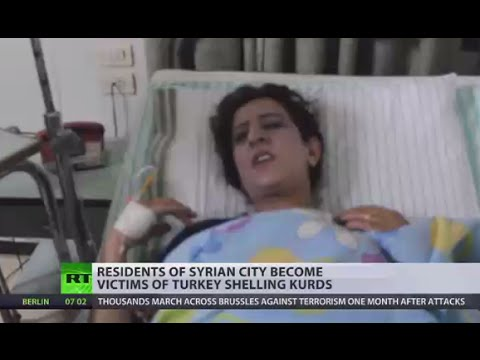 Syrian civilians become victims of Turkey shelling Kurds (EXCLUSIVE)