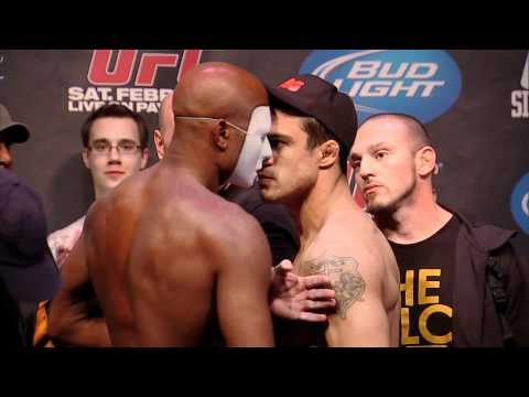 Silva vs Belfort - The Staredown!