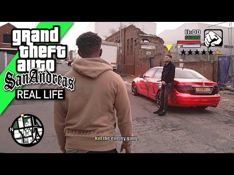 GTA San Andreas in REAL LIFE 4
