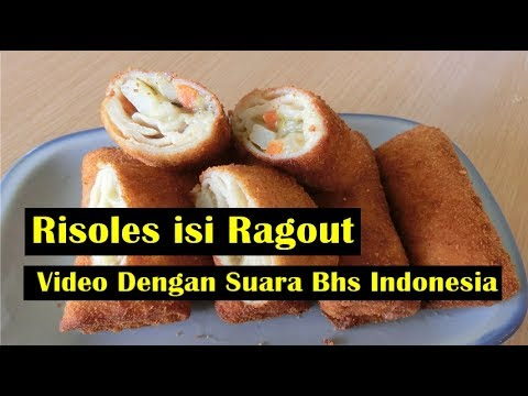 Risoles isi Ragout FULL -  Video Dengan Suara Bhs Indonesia