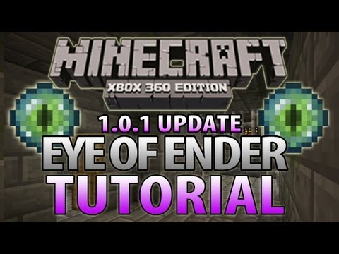 Minecraft (Xbox 360) - How To Find Strongholds | End Portals (Eye of Ender Tutorial)