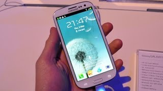 Samsung Galaxy S 3, prise en main (Unpacked 2012) - par Test-Mobile.fr