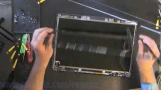 COMPAQ V6000  take apart video, disassemble, how to open (nothing left) disassembly