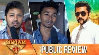 Singam 3 Public Review | Surya, Anushka, Shruthi Hassan